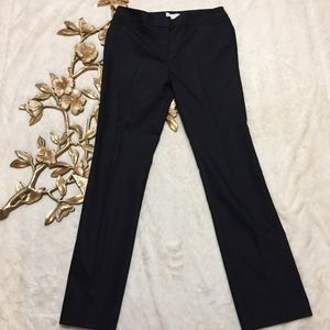 Chico's Black Straight Leg Career Pants Size 1